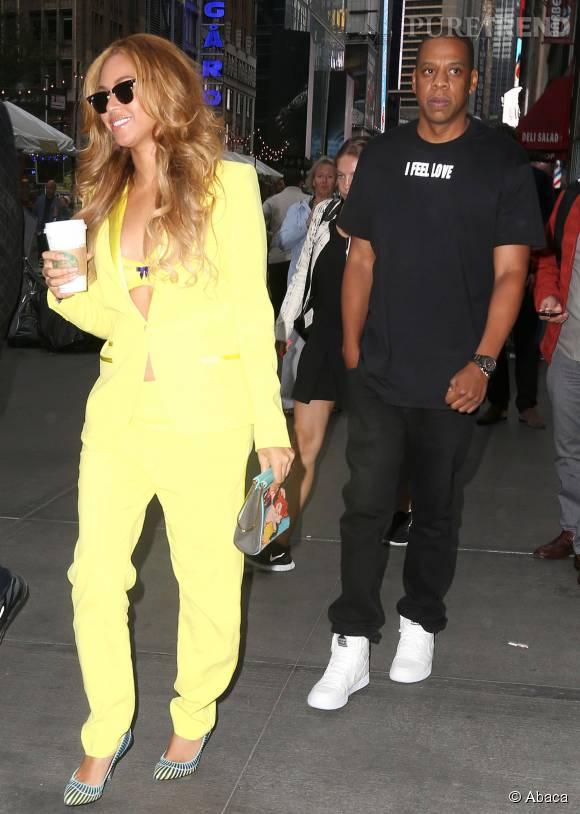 Les rumeurs de divorce entre Beyonce et Jay-Z semblent bien loin, quand on regarde ces photos...