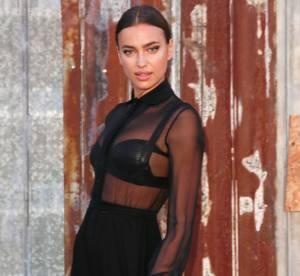 Irina Shayk : string et bottes en cuir, elle enflamme la toile