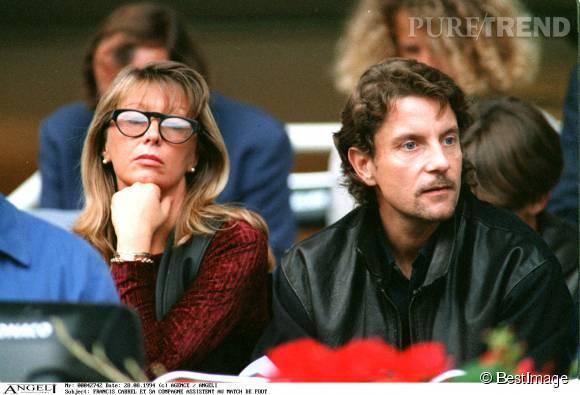 Francis Cabrel et sa femme Mariette en 1994.