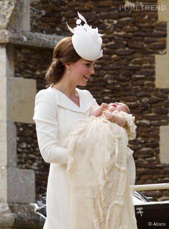 La petite fille de Kate Middleton n'aura pas le droit de porter de robe avant son premier anniversaire.