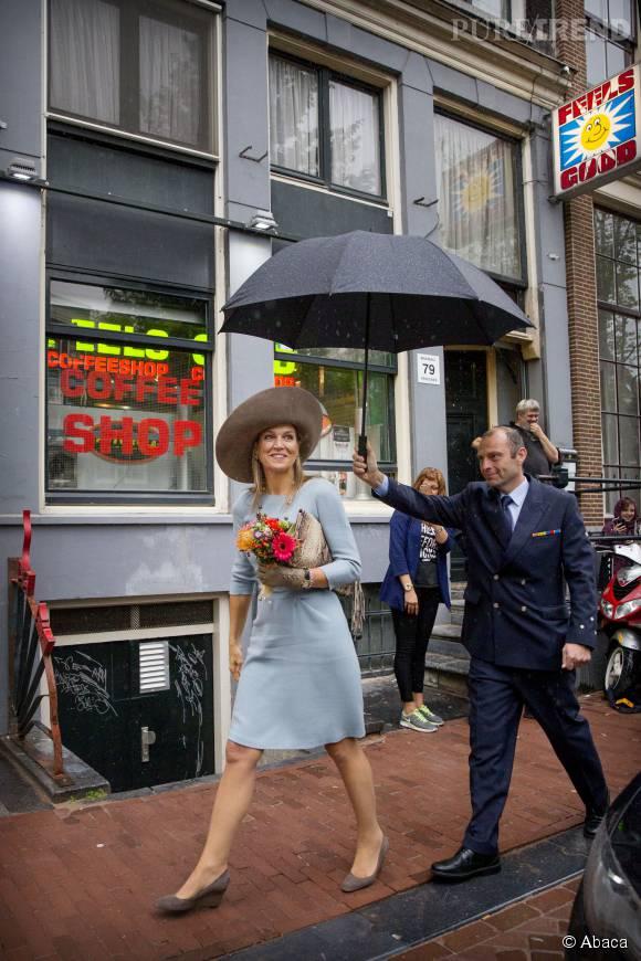 Maxima des Pays-Bas toujours aussi fun.