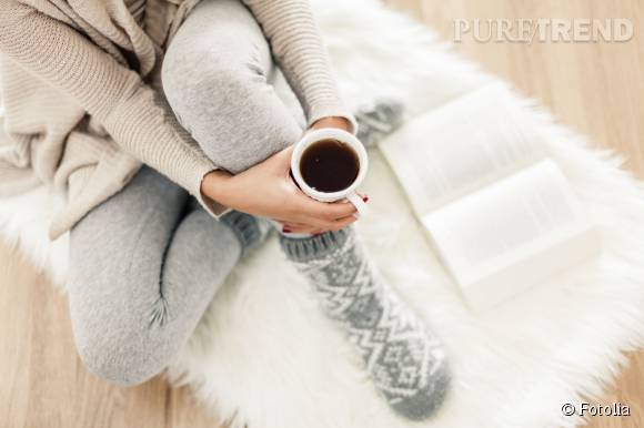 Dimanche cocooning.
