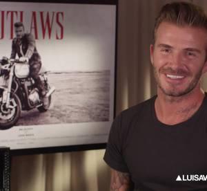 David Beckham : biker ultra sexy pour Belstaff (video)