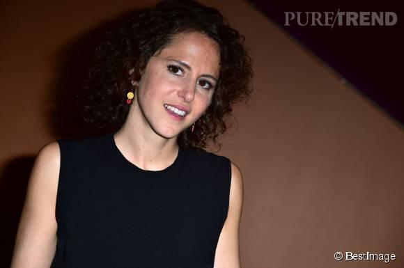 Emma Luchini, souriante et pétillante pour présenter son nouveau film en tant que réalisatrice.