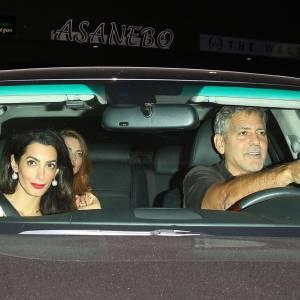 Amal et George Clooney, virée sexy à Los Angeles