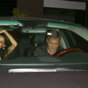 Amal et George Clooney, jamais l'un sans l'autre