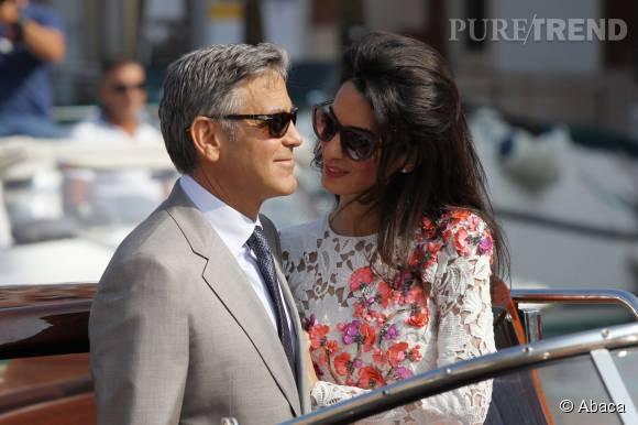 Le couple a vécu ses premiers instants de jeune mariés sur les canaux de Venise.