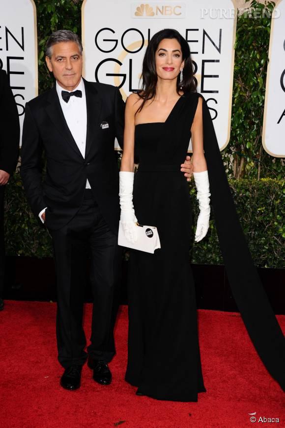 Aux Golden Globes 2015, Amal et George Clooney ont fait sensation sur le tapis rouge.