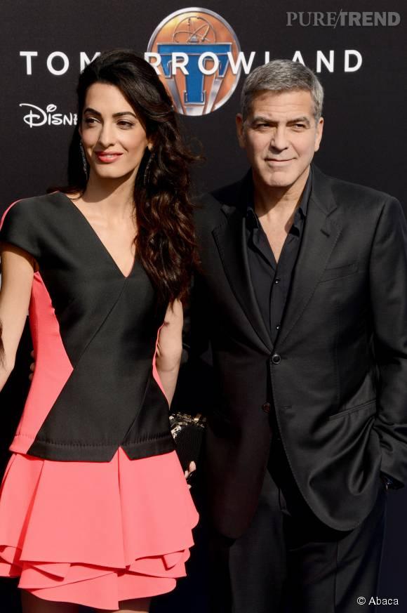 Amal Alamuddin est devenu l'atout charme de George Clooney. Dire qu'on pensait qu'il n'en avait pas besoin...