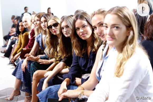 Un front row de blogueuses à la Fashion Week.