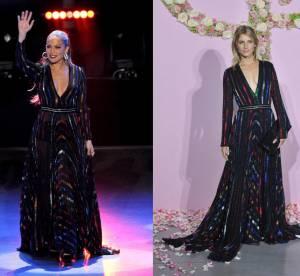 Jennifer Lopez vs Mélanie Laurent : la robe décolletée Blumarine