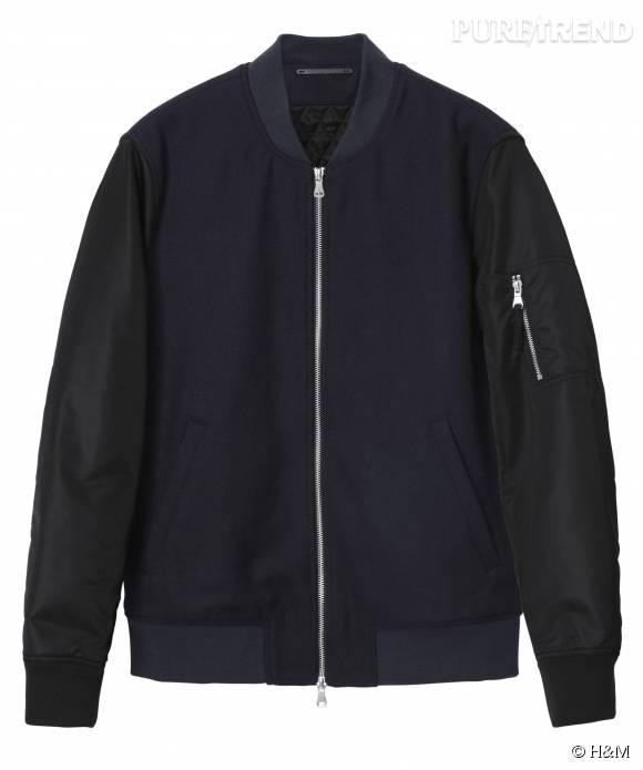 Blouson H&M, 49,99 euros.