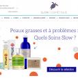 Le e-shop slow-cosmetique.com, le repère de tous ceux qui veulent des soins 100% naturels.