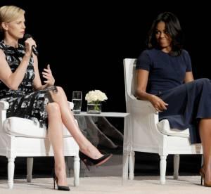 Michelle Obama, sa nouvelle bonne copine s'appelle Charlize Theron !