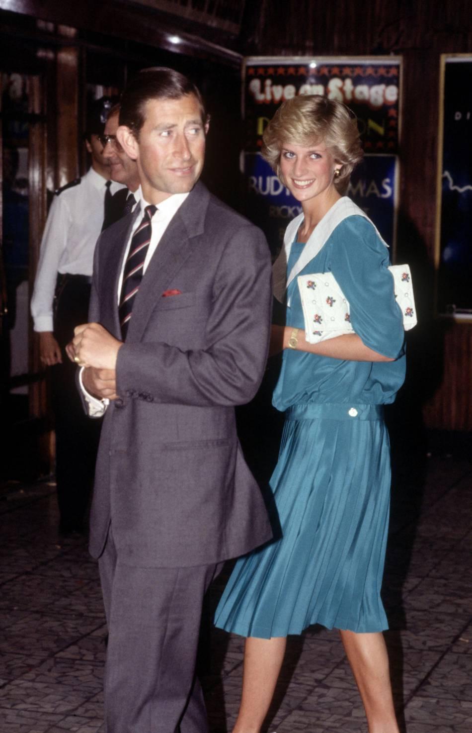 Lady Diana a souvent mis du turquoise !