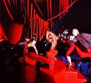 Madonna aux Brit Awards 2015.
