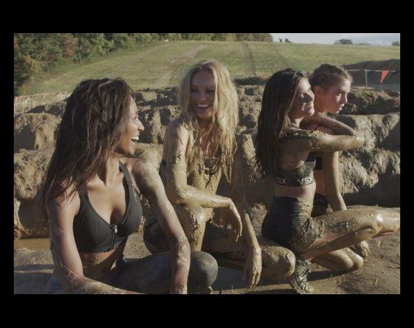 Victoria's Secret : les Anges dans la boue pour un boot camp