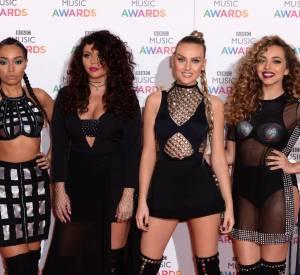 Les Little Mix à la cérémonie des BBC Music Awards le 10 décembre 2015.