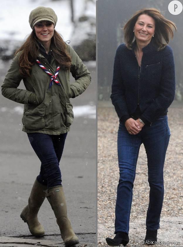 Kate et Carole Middleton version countryside.