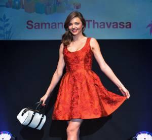 Miranda Kerr : sa petite robe rouge déclenche l'hystérie au Japon