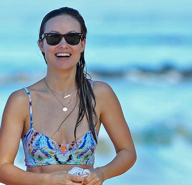 Olivia Wilde à Maui le 13 décembre 2015.