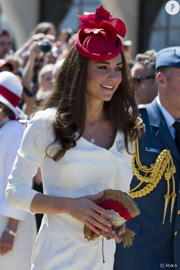Kate Middleton en 2011, lors de sa visite au Canada après son mariage avec le prince William.