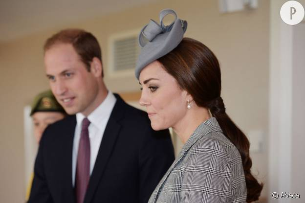 Kate Middleton et le prince William en octobre 2014, lors de la venue du président de Singapour, Tony Tan Keng Yam et de sa femme.