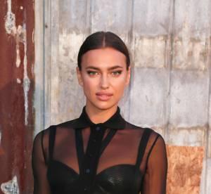 Irina Shayk : oeil de biche et bouche pulpeuse, le selfie sexy en backstage