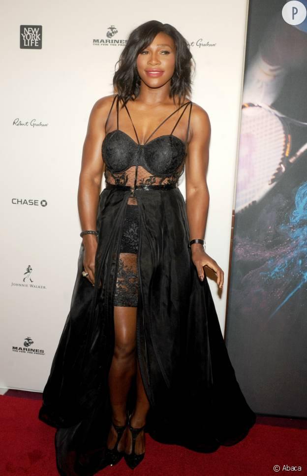 Serena mise sur une tenue des plus sexy ce soir-là.