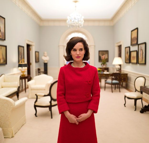 """Natalie Portman dans le rôle de Jackie Kennedy dans le film """"Jackie"""" de Pablo Larraín attendu en 2017."""