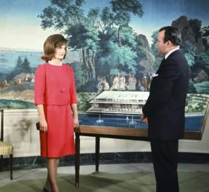 Jackie Kennedy en 1962.