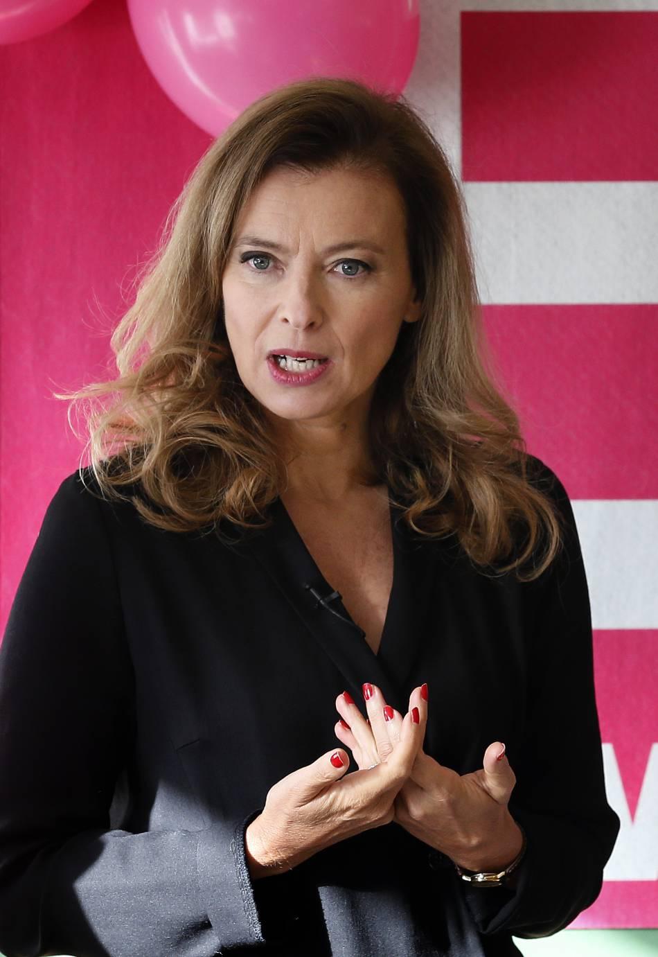 """Valérie Trierweiler se confie sur sa rupture :  """"Ce n'était pas un petit malheur"""" ."""