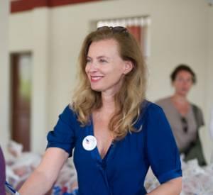 Valérie Trierweiler est marraine du Secours Populaire français depuis son passage à l'Elysée.