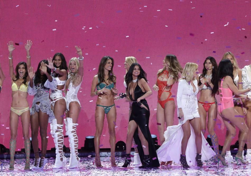Les Anges lors du dernier show Victoria's Secret.