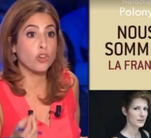 Echanges houleux entre Natacha Polony et Léa Salamé, samedi 19 décembre sur France 2.