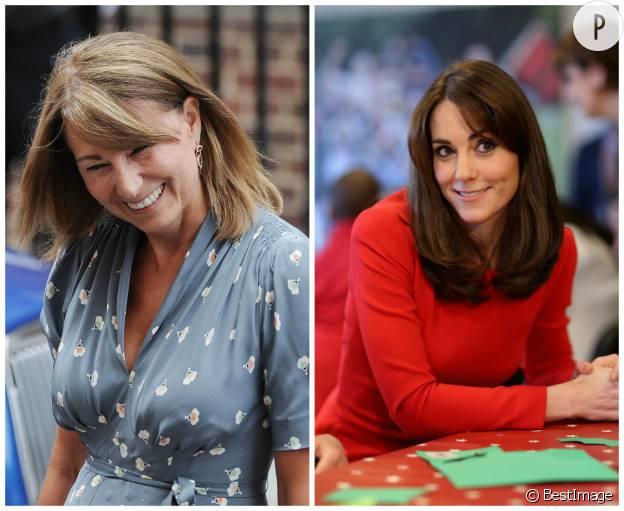 Kate Middleton ressemble-t-elle de plus en plus à sa mère Carole avec sa frange ?