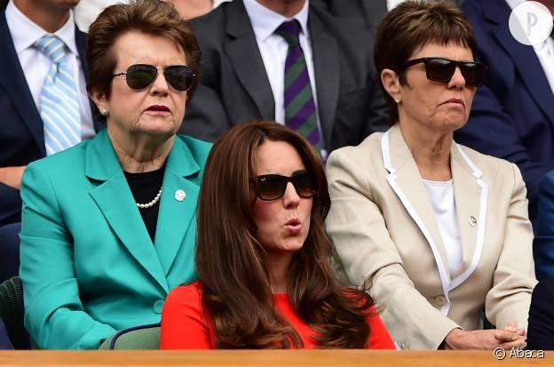 À voir Kate Middleton, on se dit que le match est serré.