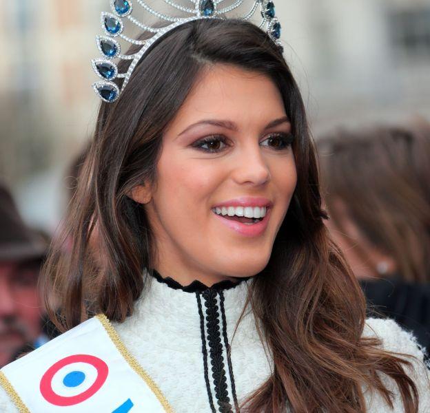 Iris Mittenaere, une Miss France sous le charme du jeune chanteur Kendji Girac.