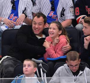 Jude Law et sa fille Iris