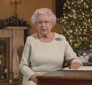 La reine Elizabeth II adresse ses voeux aux Britanniques dans un message diffusé ce vendredi 25 décembre 2015.