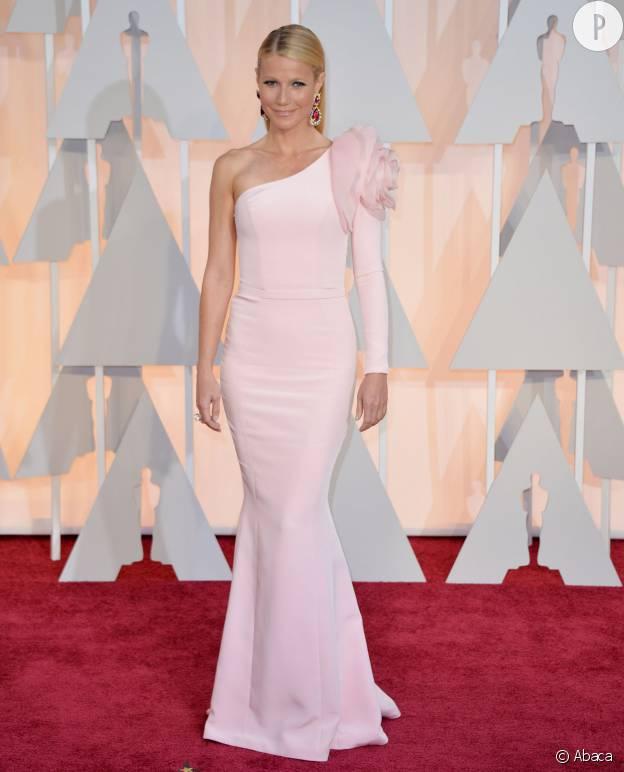 Gwyneth Paltrow à la cérémonie des Oscars de 2015.