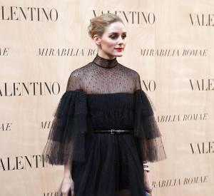 Olivia Palermo au défilé Haute Couture Valentino, en juillet 2015.