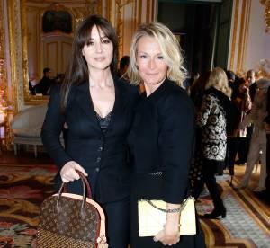 Monica Bellucci et Estelle Lefébure, duo glamour pour la journée de la Femme