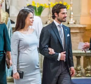 Sofia de Suède : très enceinte, elle célèbre l'arrivée de son neveu Oscar