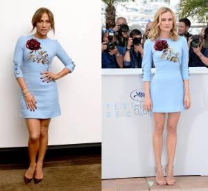 Jennifer Lopez vs Diane Kruger : la mini robe brodée précieuse Dolce & Gabbana