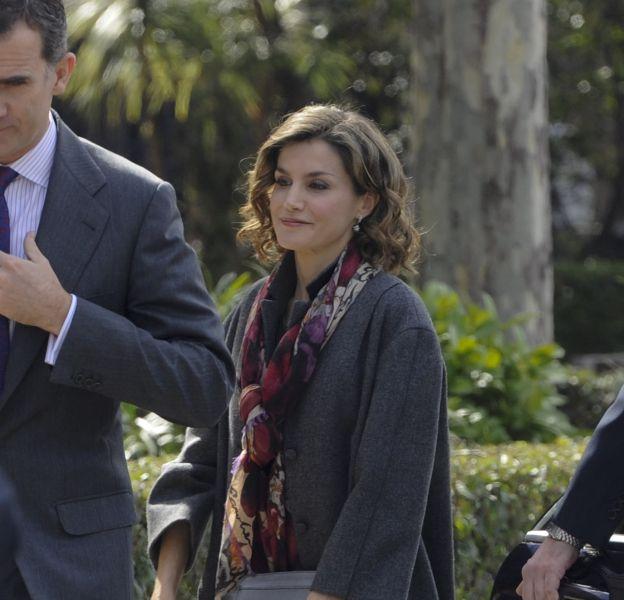 Letizia d'Espagne, attention à l'overdose de gris à Madrid !