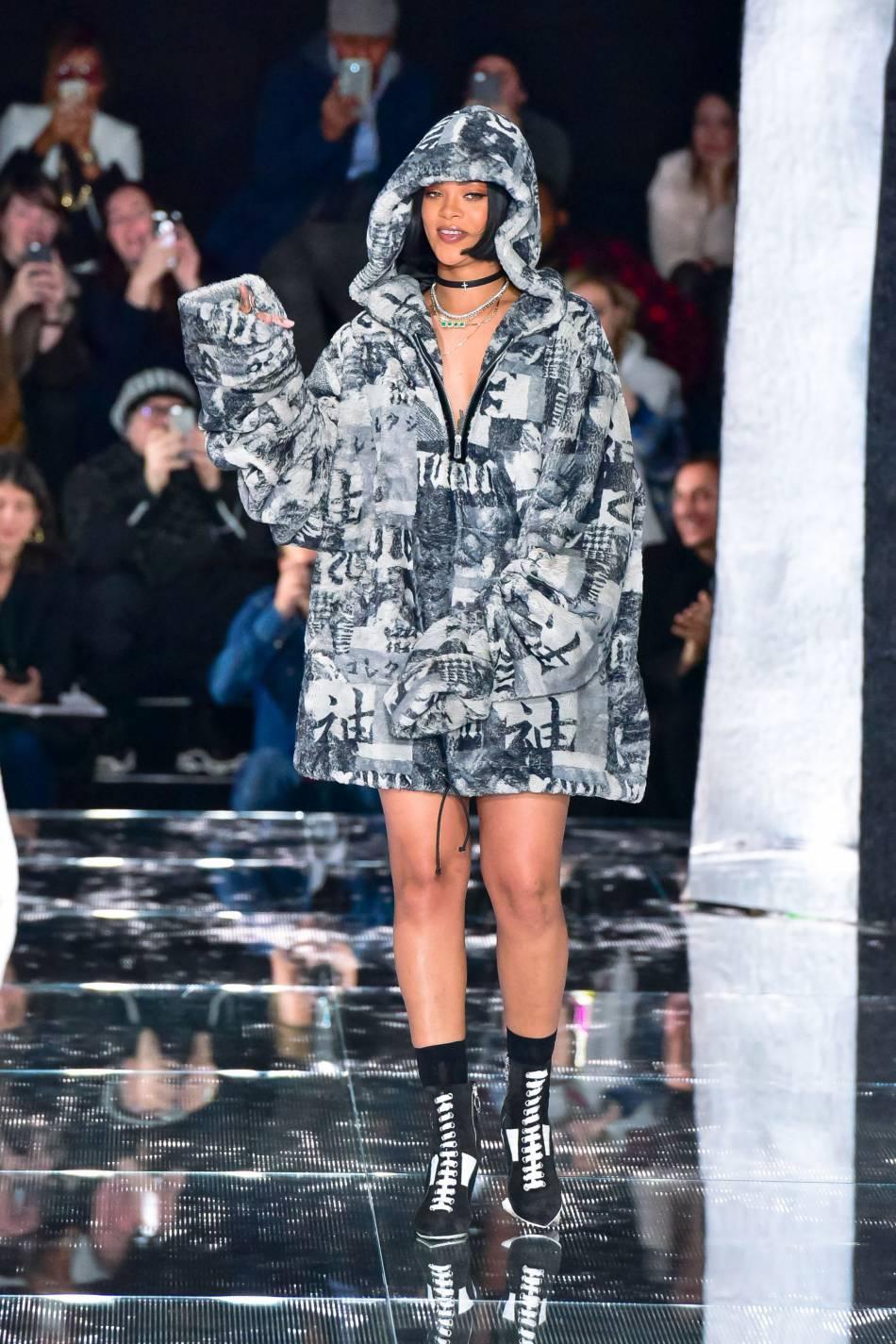 Rihanna pour sa collection avec Puma.