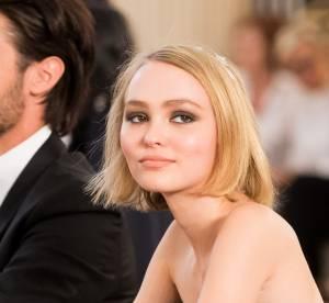 """Lily-Rose Depp, yeux de biche et """"fish gape"""" pour affoler Instagram"""