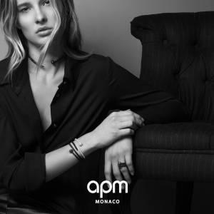 Ilona Smet, nouvelle égérie d'APM Monaco.