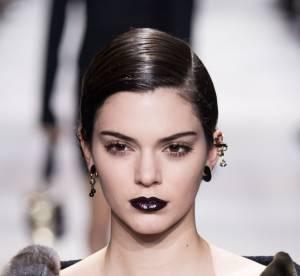 Fashion Week de Paris : on copie la bouche violine vue chez Dior